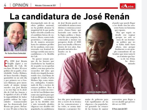 La Candidatura de José Renán Trujillo