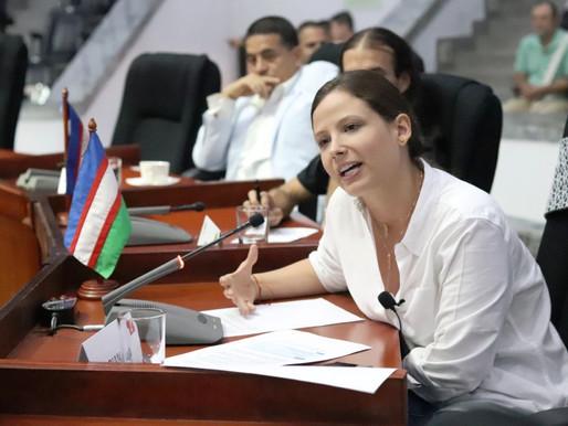 """""""Afortunadamente Emcali ya tiene gerente"""": Diana Rojas"""