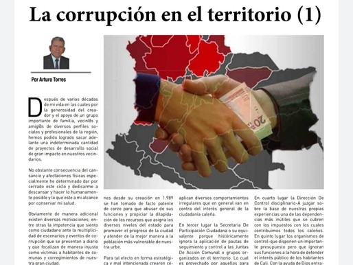 LADERA AL DÍA: La corrupción en el territorio