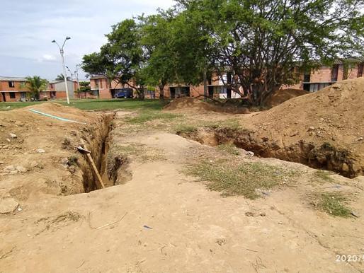 "Los ""caza tesoros"" destrozaron un parque en Potrero Grande buscando caletas de CHUPETA"