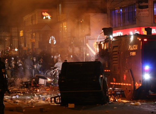 Ardió el occidente de Bogotá por la muerte de abogado a manos de la policía