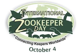 International Zoo Keeper Day with Red-Red and Spot-noses