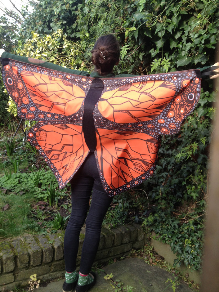 Butterfly life cycle costumes