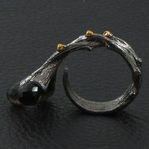 Кольцо - веточка