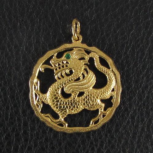 Подвеска Золотой Дракон