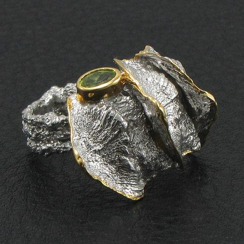 Кольцо кедровая шишка
