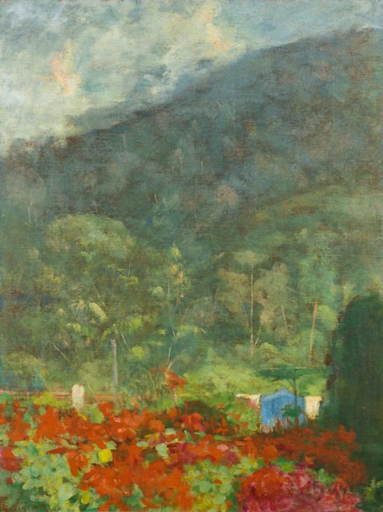 Paisagem de Teresópolis, Sem data, Eliseu D'Angelo Visconti, Óleo sobre tela