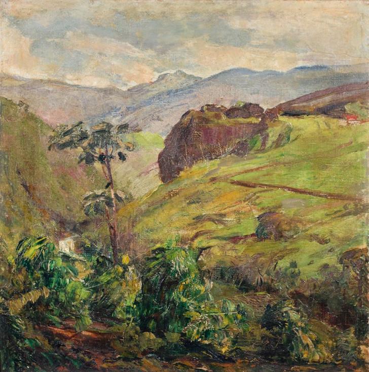 Pedra do Ultimo Adeus- Itatiaia, 1933, Lucílio de Albuquerque, Óleo sobre tela