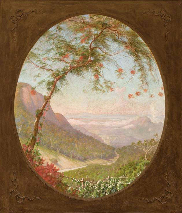 Baixada da Serra da Estrela, 1919, Roberto Rowley, Óleo sobre tela