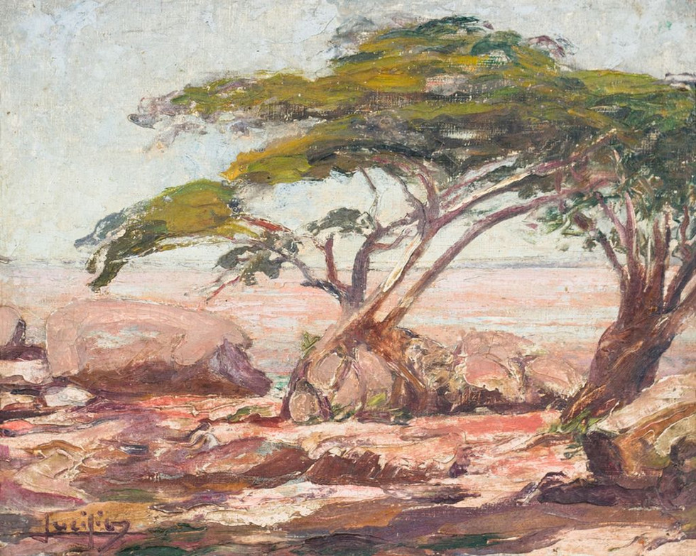 Canto do Rio, Século XX  Lucílio de Albuquerque, Óleo sobre tela