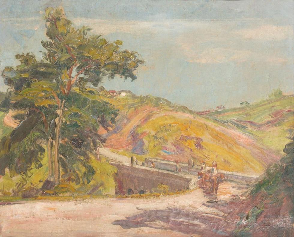 Pendotiba, 1932  Lucílio de Albuquerque, Óleo sobre tela