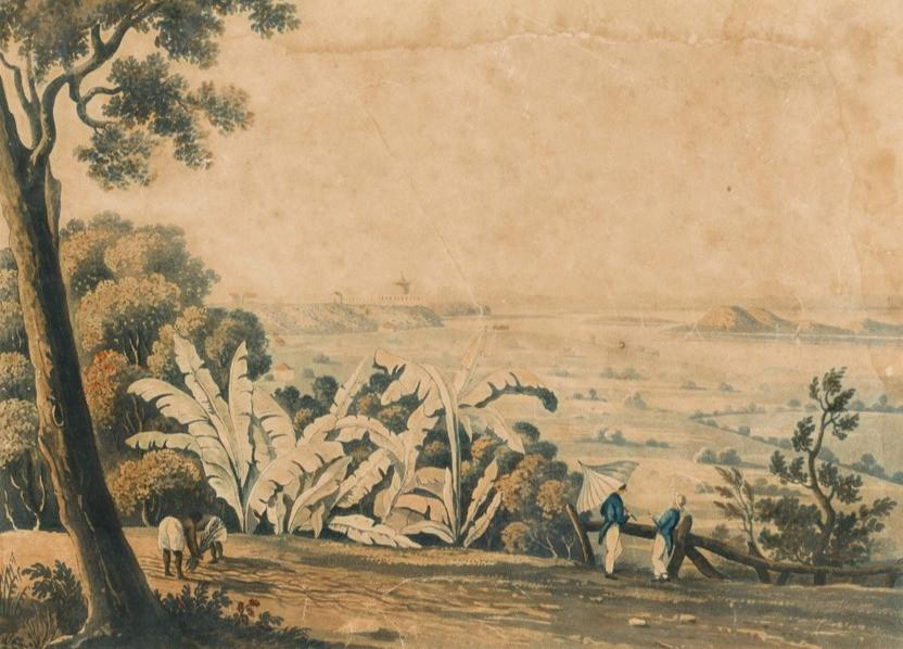 The Lazaretto, 1822 Henry Chamberlain (desenhista) Litogravura