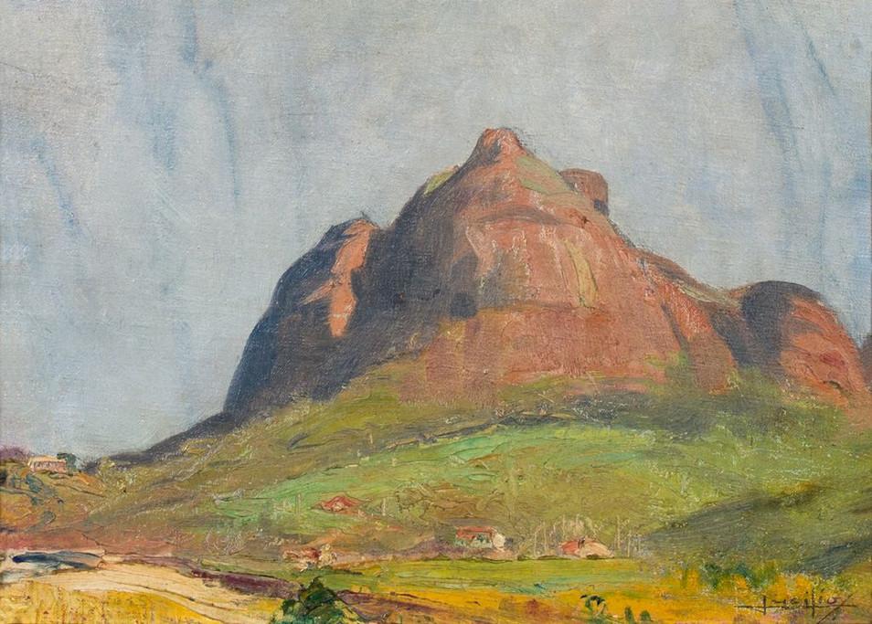 Pedra da Gávea, 1935 Lucílio de Albuquerque, Óleo sobre tela