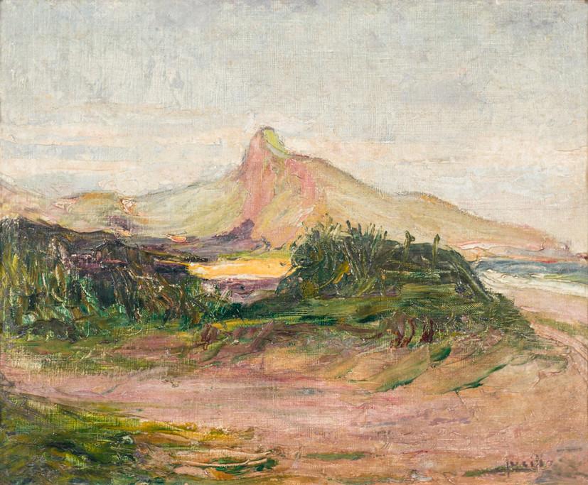 Paisagem, Século XX Lucílio de Albuquerque, Óleo sobre tela