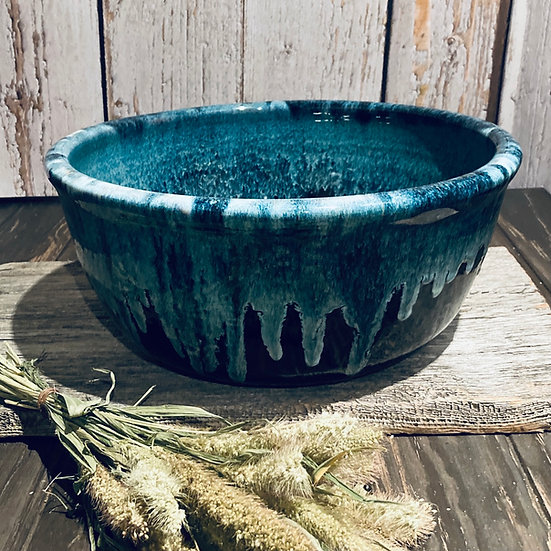 Blue Waterfall Breadbowl
