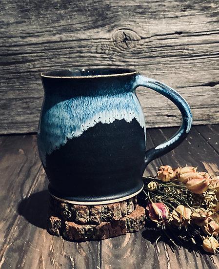 Charcoal Mug/Blue