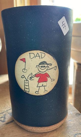 Dad Stickdude Golf Tall Tumbler