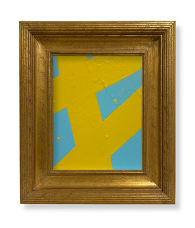 8 x 10 Yellow Lt Blue SOLD