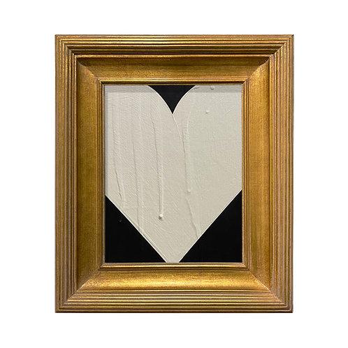 Ron Giusti Mini Heart Black Cream