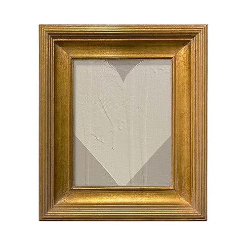 Ron Giusti Mini Heart Taupe Cream