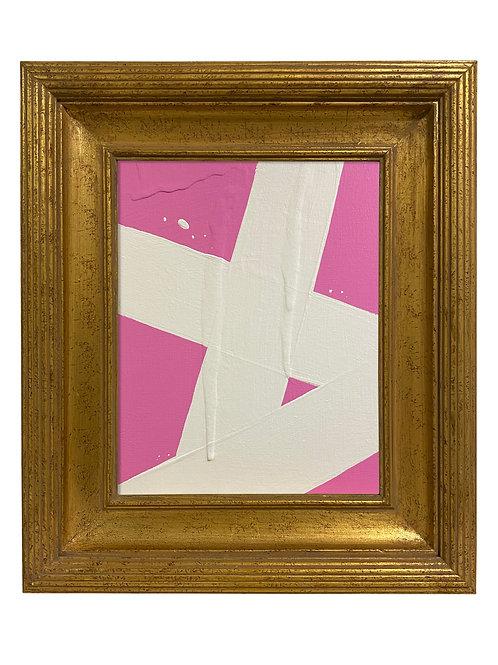 Ron Giusti Mini Abstract Pink Cream