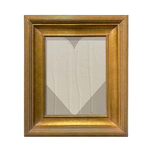Ron Giusti Mini Heart 2 Taupe Cream