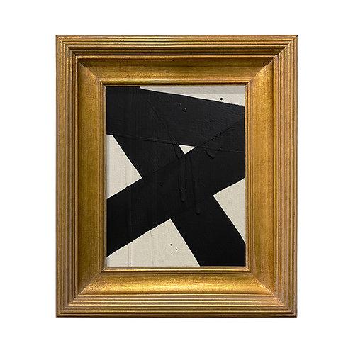 Ron Giusti Mini Abstract Cream Black