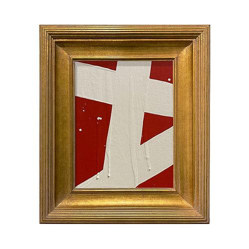 Ron Giusti Mini Abstract Red Cream