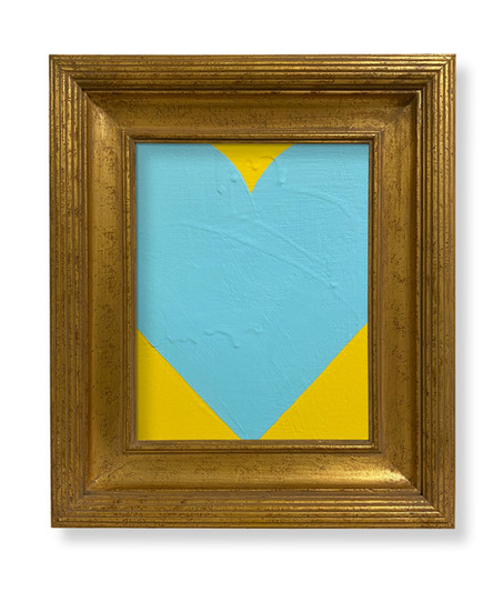 8 x 10 Lt Blue Yellow SOLD