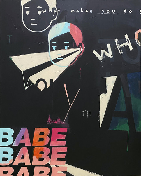 BABE 4ft x 5ft SOLD