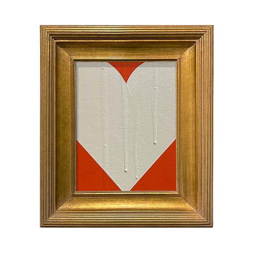 Ron Giusti Mini Heart Orange Cream