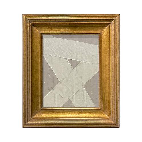 Ron Giusti Mini Abstract Taupe Cream