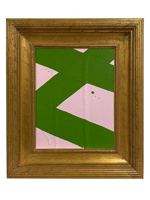 Ron Giusti Mini Abstract Lt Pink Kelly