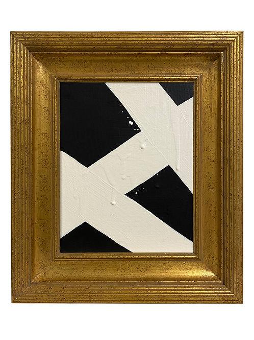 Ron Giusti Mini Abstract Black Cream