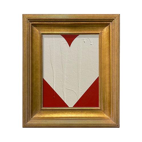 Ron Giusti Mini Heart Red Cream