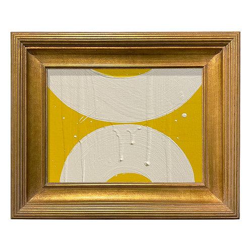 Ron Giusti Mini Wagasa Yellow Cream