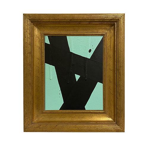 Ron Giusti Mini Abstract Mint Black