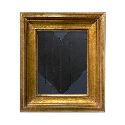 Ron Giusti Mini Heart Charcoal Black