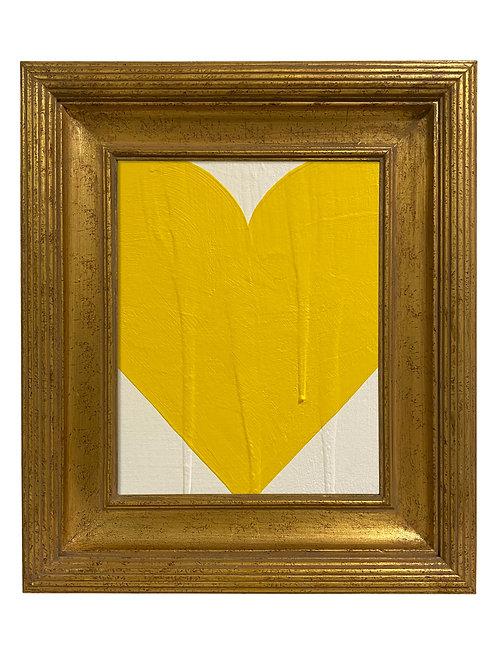 Ron Giusti Mini Heart Cream Yellow
