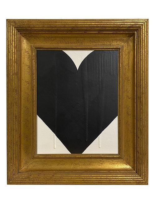 Ron Giusti Mini Heart Cream Black 2