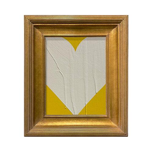 Ron Giusti Mini Heart Yellow Cream