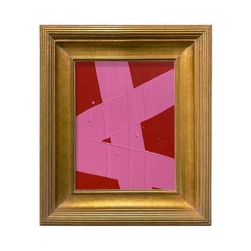 Ron Giusti Mini Abstract Red Pink