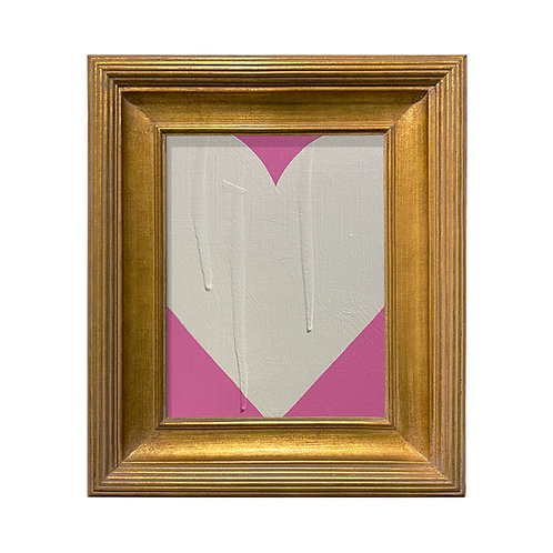 Ron Giusti Mini Heart Pink Cream