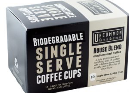 Single Serve Biodegradable Cups