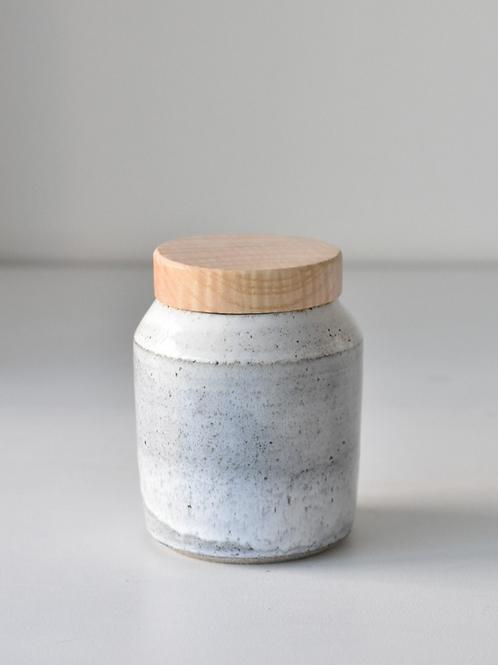 Small lidded jar