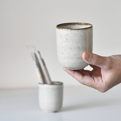 small tall cup