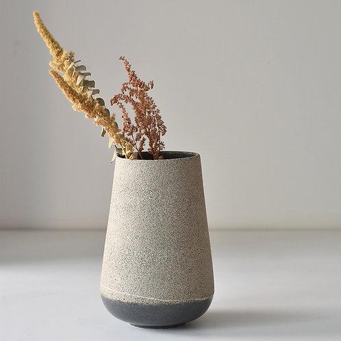 Medium grey vase