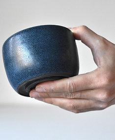 Dark blue cup