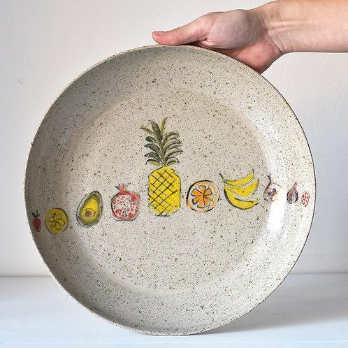 big exotic fruit bowl