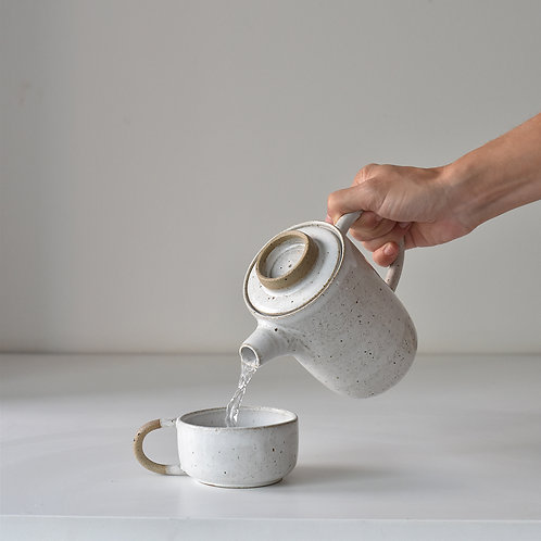 Small Teapot with cup